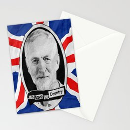 Jez Save The Country! Stationery Cards