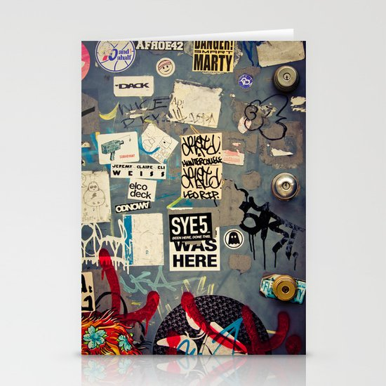 The Door - Williamsburg, Brooklyn, NYC Stationery Cards