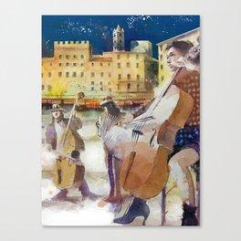 Magica Siena Canvas Print