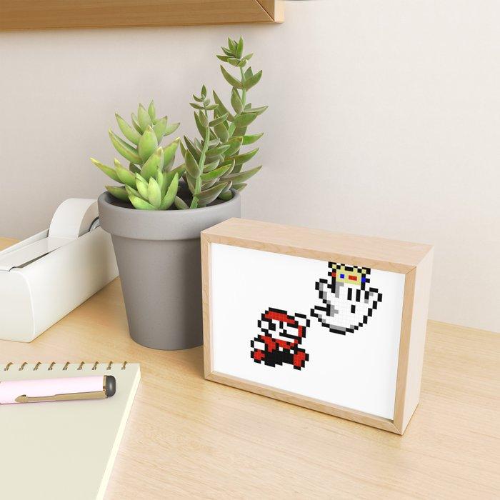 8bit Framed Mini Art Print