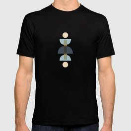 Sapphire Abstract Half Moon 1 T-shirt