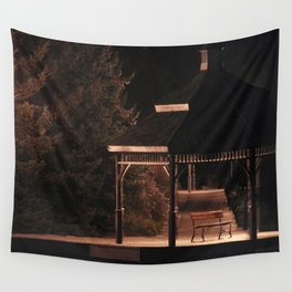 Join Me Down by the Water, Loo | Gazebo Wall Tapestry