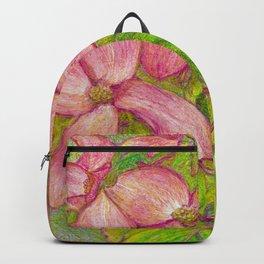 Satomi Dogwood, Pencil Sketch Backpack