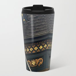 Old Brass With Top Gold - Nailed It Travel Mug