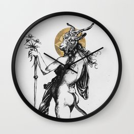 The Crown of Babylon Wall Clock