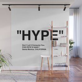 """HYPE"" Wall Mural"
