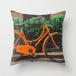 Brooklyn Heights Ride Throw Pillow