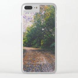 Mystical Garden Clear iPhone Case