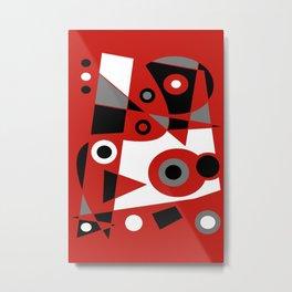 Abstract #905 Metal Print
