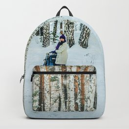 Snow white story Backpack