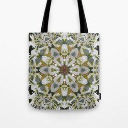 Lacy Serviceberry kaleidoscope - Amelanchier 0033 k5 Tote Bag