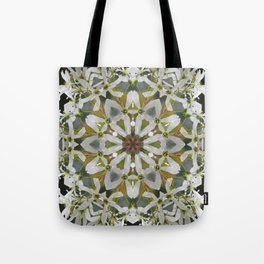 Lacy Serviceberry kaleidoscope - Amelanchier 0033 k5 Tote Bag