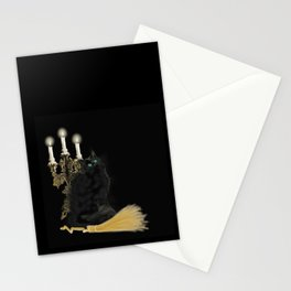 The Witch's Cat Stationery Cards