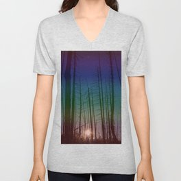 Life Between The Trees Unisex V-Neck