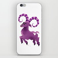 aries iPhone & iPod Skins featuring Aries! by Yetiland