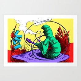 The Caterpillar! Art Print
