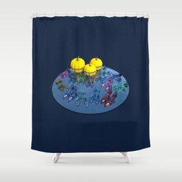 Princesses Party Shower Curtain