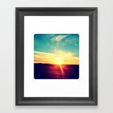 Sunset 1 Framed Art Print