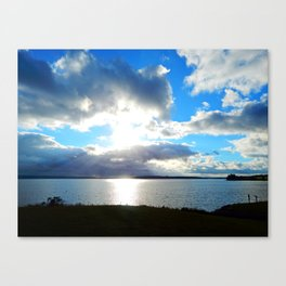 Three Rivers view in Georgetown PEI Canvas Print