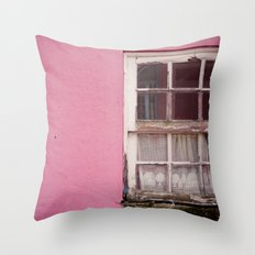 My lonely window Throw Pillow
