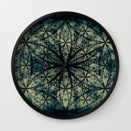 Sacred Geometry for your daily life -  ESOTERIC FLOWER OF LIFE Wall Clock