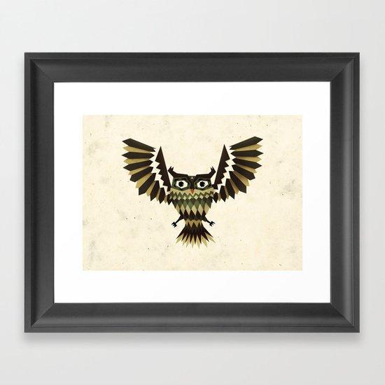 attack! Framed Art Print