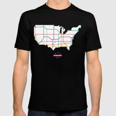 Interstate SMALL Mens Fitted Tee Black