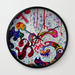 Lava Lamp Mind Wall Clock