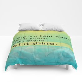 Let it shine - Your light Comforters