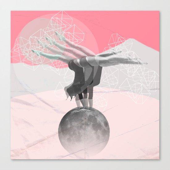 L'équilibre Canvas Print