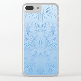 Pinstripe Pattern Creation Clear iPhone Case