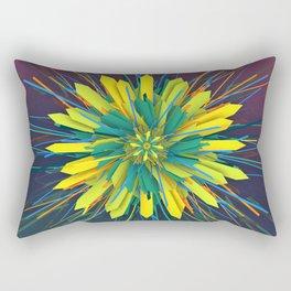 SunZun Flower Rectangular Pillow