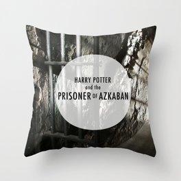 The Prisoner of Azkaban Throw Pillow