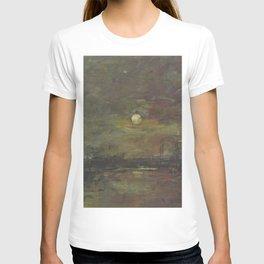 Eugne Boudin - Twilight on the bassin du Commerce in Le Havre T-shirt
