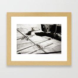 Air Travel Framed Art Print