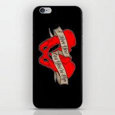 I love you cos you're hip iPhone & iPod Skin