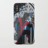 nightcrawler iPhone & iPod Cases featuring Wagner's Sword by Andrew Formosa