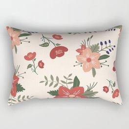 Dorthy Florals Rectangular Pillow