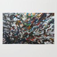 splatter Area & Throw Rugs featuring Splatter by Magma