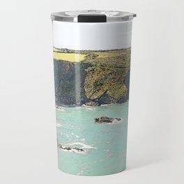 Cornish coastline Travel Mug