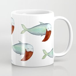 fish with beard Coffee Mug