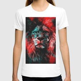 Lion wild cat #lion T-shirt