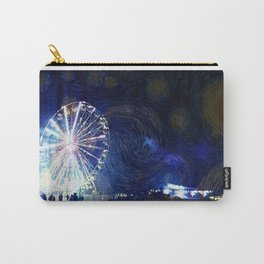 Starry Night at the Festival Carry-All Pouch