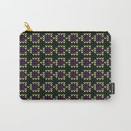 Edgy Pattern Carry-All Pouch