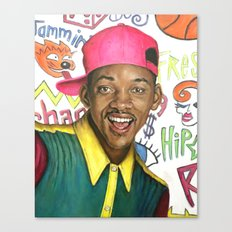 Fresh Prince of Bel Air - Will Smith Canvas Print