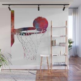 basketball player #basketball #sport Wall Mural