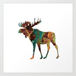 NORTH WOODS Art Print