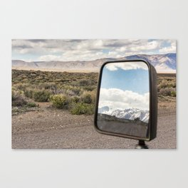 Sideview Sights Canvas Print