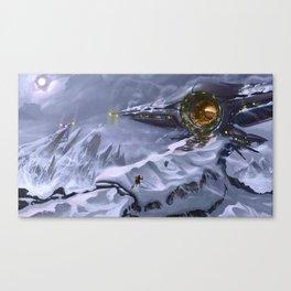 Mountain Portal Canvas Print