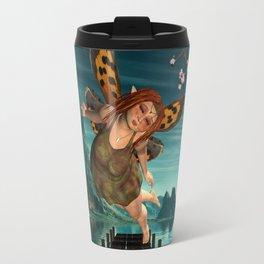 Cute flying fairy Travel Mug